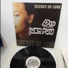 Discos de vinilo: MAXI SINGLE DISCO VINILO JUAN RUIZ SECRET OF LOVE. Lote 213643005
