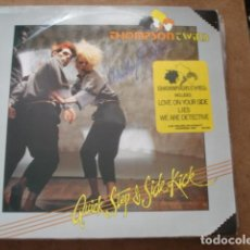 Discos de vinilo: THOMPSON TWINS QUICK STEP & SIDE KICK. Lote 213643291