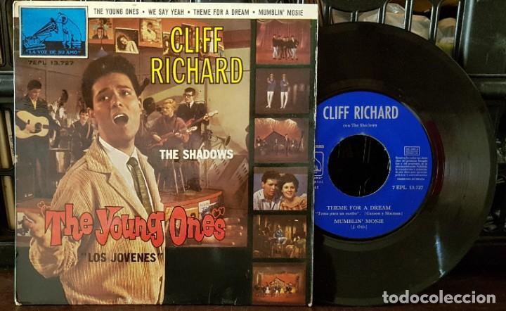 CLIFF RICHARD & THE SHADOWS - THE YAUNG ONES - LOS JÓVENES (Música - Discos de Vinilo - EPs - Pop - Rock Extranjero de los 70)