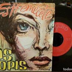 Discos de vinilo: LOS LLOPIS - ESTREMÉCETE. Lote 213644515
