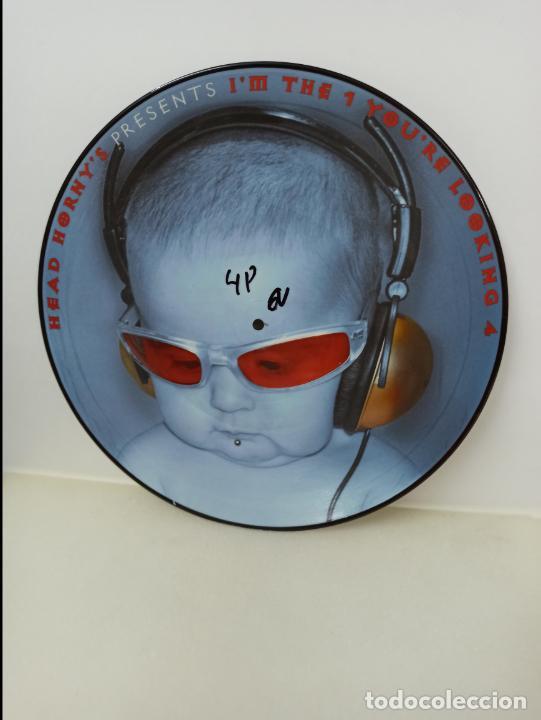 MAXI SINGLE PICTURE DISC DISCO VINILO HEAD HORNY´S PRESENTS I´M THE 1 YOU´RE LOOKING 4 (Música - Discos de Vinilo - Maxi Singles - Techno, Trance y House)