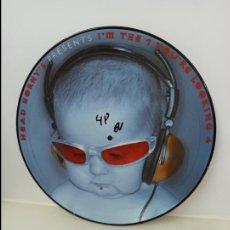 Discos de vinilo: MAXI SINGLE PICTURE DISC DISCO VINILO HEAD HORNY´S PRESENTS I´M THE 1 YOU´RE LOOKING 4. Lote 213644831