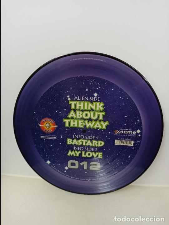 Discos de vinilo: MAXI SINGLE PICTURE DISC DISCO VINILO DJ MARTA AND TIM WOKAN THINK ABOUT THE WAY - Foto 2 - 213645051