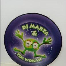 Discos de vinilo: MAXI SINGLE PICTURE DISC DISCO VINILO DJ MARTA AND TIM WOKAN THINK ABOUT THE WAY. Lote 213645051
