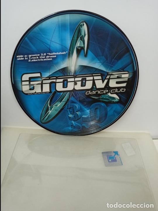 MAXI SINGLE PICTURE DISC DISCO VINILO GROOVE DANCE CLUB (Música - Discos de Vinilo - Maxi Singles - Techno, Trance y House)