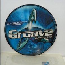 Discos de vinilo: MAXI SINGLE PICTURE DISC DISCO VINILO GROOVE DANCE CLUB. Lote 213645195