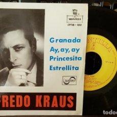 Discos de vinilo: ALFREDO KRAUS - GRANADA - AY, AY, AY. Lote 213645212