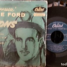 Discos de vinilo: TENNESSEE ERNIE FORD 16 TONS. Lote 213651487