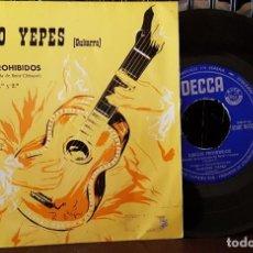 Discos de vinilo: NARCISO YEPES - JUEGOS PROHIBIDOS - DE LA PELICULA RENÉ CLÉMENT 1º Y 2º PARTE. Lote 213651868