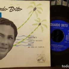 Discos de vinilo: EDUARDO BRITO - SIBONEY - LAMENTO ESCLAVO. Lote 213653210