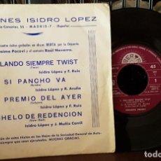 Discos de vinilo: EDICIONES ISIDRO LOPEZ - BAILANDO SIEMPRE EL TWIST. Lote 213655105