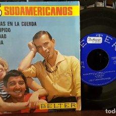 Discos de vinilo: LOS 3 SUDAMERICANOS - MARIONETAS EN LA CUERDA. Lote 213655317