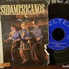 Discos de vinilo: LOS 3 SUDAMERICANOS - CUANDO ME ENAMORE. Lote 213655928