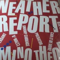 Discos de vinilo: WEATHER REPORT DOMINO THEORY. Lote 213657405