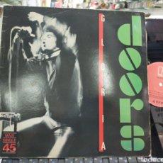 Discos de vinilo: THE DOORS MAXI GLORIA ESPAÑA 1983. Lote 213658185