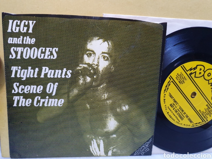 Discos de vinilo: IGGY AND THE STOOGES. IM SICK OF YOU. BOMP RECORDS. SINGLE 1977. - Foto 2 - 213665178