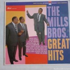Discos de vinilo: THE MILLS BROS. GREAT HITS. USA 1959. DLP 3103. DLP 25.157. DISCO VG++. CARÁTULA VG++.. Lote 213669126