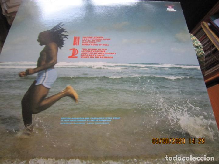 Discos de vinilo: EDDY GRANT - KILLER ON THE RAMPAGE LP - ORIGINAL ESPAÑOL - ICE 1982 CON ENCARTE ORIGINAL - Foto 8 - 269262833