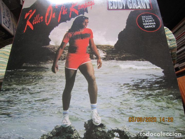 Discos de vinilo: EDDY GRANT - KILLER ON THE RAMPAGE LP - ORIGINAL ESPAÑOL - ICE 1982 CON ENCARTE ORIGINAL - Foto 9 - 269262833
