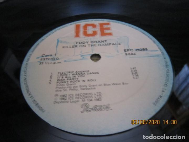 Discos de vinilo: EDDY GRANT - KILLER ON THE RAMPAGE LP - ORIGINAL ESPAÑOL - ICE 1982 CON ENCARTE ORIGINAL - Foto 12 - 269262833