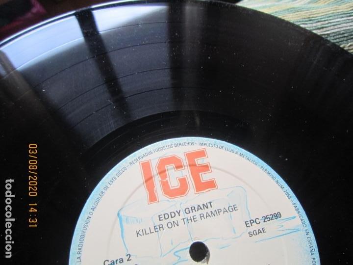 Discos de vinilo: EDDY GRANT - KILLER ON THE RAMPAGE LP - ORIGINAL ESPAÑOL - ICE 1982 CON ENCARTE ORIGINAL - Foto 15 - 269262833