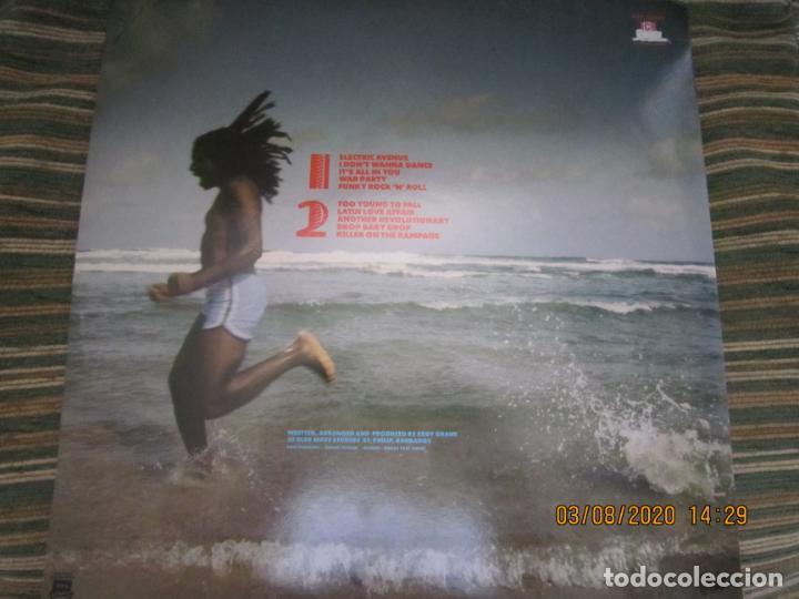 Discos de vinilo: EDDY GRANT - KILLER ON THE RAMPAGE LP - ORIGINAL ESPAÑOL - ICE 1982 CON ENCARTE ORIGINAL - Foto 16 - 269262833