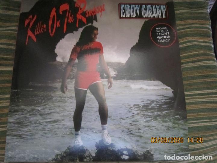 Discos de vinilo: EDDY GRANT - KILLER ON THE RAMPAGE LP - ORIGINAL ESPAÑOL - ICE 1982 CON ENCARTE ORIGINAL - Foto 17 - 269262833