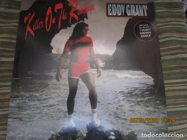 EDDY GRANT - KILLER ON THE RAMPAGE LP - ORIGINAL ESPAÑOL - ICE 1982 CON ENCARTE ORIGINAL (Música - Discos - LP Vinilo - Reggae - Ska)