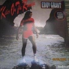 Discos de vinilo: EDDY GRANT - KILLER ON THE RAMPAGE LP - ORIGINAL ESPAÑOL - ICE 1982 CON ENCARTE ORIGINAL. Lote 269262833