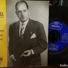 Discos de vinilo: EMILIKO VENDRELL - L´EMIGRANT - LA BALANGUERA - PEL TEU AMOR - PER TU PLORO. Lote 213670551