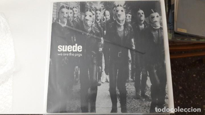 """SUEDE WE ARE THE PIGS MAXI SINGLE ORIGINAL 12"""" (Música - Discos de Vinilo - Maxi Singles - Pop - Rock Extranjero de los 90 a la actualidad)"""