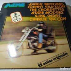 Discos de vinil: LP -VARIOUS ?– 22 EXITOS ORIGINALES - MPL-103 - 2LP - CARPETA (VG+ / VG+) SPAIN 1978. Lote 213679227