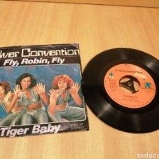 Discos de vinilo: SILVER CONVENTION. FLY, ROBIN, FLY. TIGER BABY.. Lote 213680663