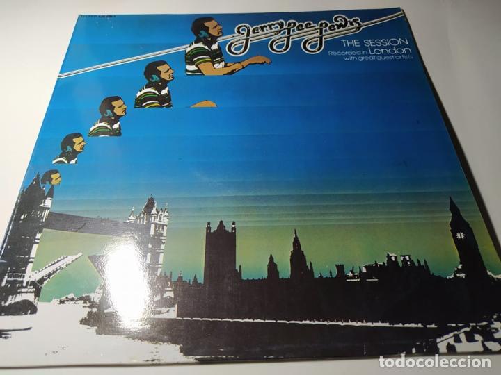 LP - JERRY LEE LEWIS ?– THE SESSION (PARTE I) - 424 586-1 (VG+ / VG) SPAIN 1989 (Música - Discos - LP Vinilo - Rock & Roll)