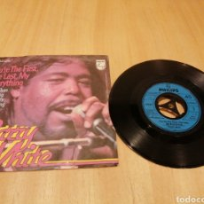 Discos de vinilo: BARRY WHITE. YOU'RE THE FIRST, THE LAST, MY EVERYTHING... Lote 213682871