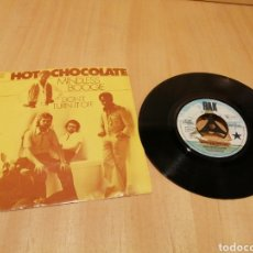 Discos de vinilo: HOT CHOCOLATE. MINDLESS BOOGIE. DON'T TURN IT OFF. Lote 213683612