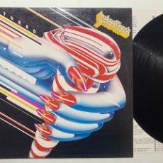 Discos de vinilo: LP JUDAS PRIEST TURBO EDICIÓN ESPAÑOLA DE 1986. Lote 213695027