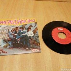 Discos de vinilo: BREAKDANCING. BREAKDANCING. BABY CAN YOU DANCE ALL NIGHT.. Lote 213697952