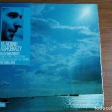 Discos de vinilo: LP RACHMANINOV CONCIERTO Nº3 PARA PIANO ASHKENAZY. Lote 213701165