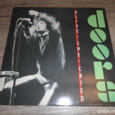Discos de vinilo: THE DOORS - ALIVE SHE CRIED (SPAIN 1983). Lote 213703537