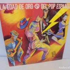Discos de vinilo: LA EDAD DE ORO DEL POP ESPAÑOL. LP VINILO. 3 DISCOS. ARIOLA 1986. 37 GRANDES EXITOS.. Lote 213703598