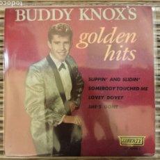 Discos de vinilo: EP BUDDY KNOXS - GOLDEN HITS RARÍSIMO Y SÓLO EDITADO EN ESPAÑA. Lote 213706617