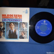 Discos de vinilo: DISCO DE VINILO, HILO DE SEDA Y SOMBRAS Y REJAS ,LOS PEKENIKES. Lote 213708022