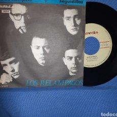 Discos de vinilo: ANTIGUO DISCO DE VINILO NIT DE LLAMPECS Y SEGUIDILLAS, LOS RELÁMPAGOS. Lote 213708230