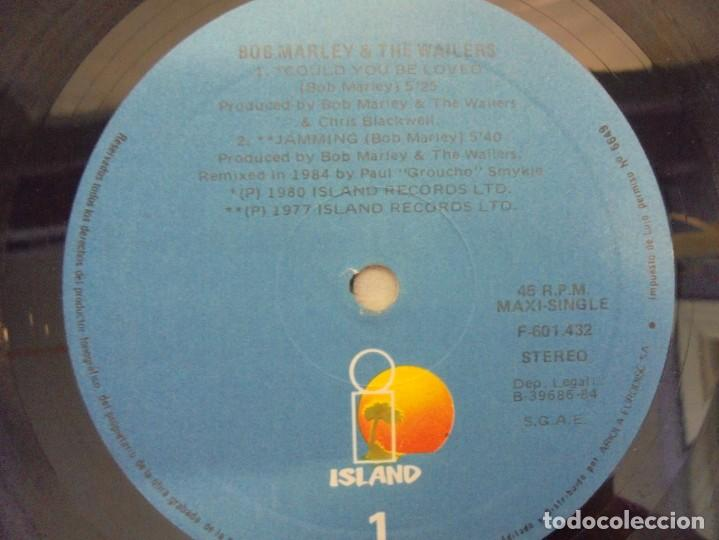 Discos de vinilo: BOB MARLEY AND THE WAILERS. COULD YOU BE LOVED. LP VINILO. DISCOGRAFIA ARIOLA 1984 - Foto 5 - 213718807