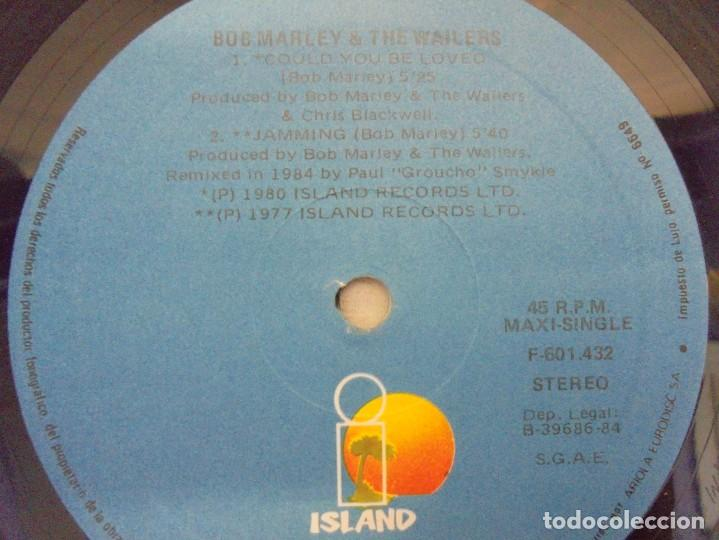 Discos de vinilo: BOB MARLEY AND THE WAILERS. COULD YOU BE LOVED. LP VINILO. DISCOGRAFIA ARIOLA 1984 - Foto 6 - 213718807