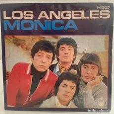 Discos de vinilo: LOS ANGELES-MONICA/TE PRESENTI/SINGLE 1970 HISPAVOX,ESPAÑA.. Lote 213719628