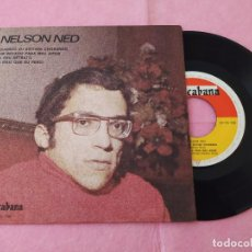 """Discos de vinilo: 7"""" SINGLE - NELSON NED – QUANDO EU ESTIVER CHORANDO +3 PORTUGAL PRESS EP (VG++/VG++). Lote 213720141"""