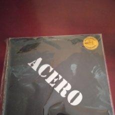 Discos de vinilo: ACERO, MAXI DE 4 TEMAS + FOTO Y ENCARTE. Lote 213728933