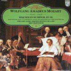 Discos de vinilo: WOLFGANG AMADEUS MOZART - REQUIEM EN RE MENOR, KV 626. Lote 213729190